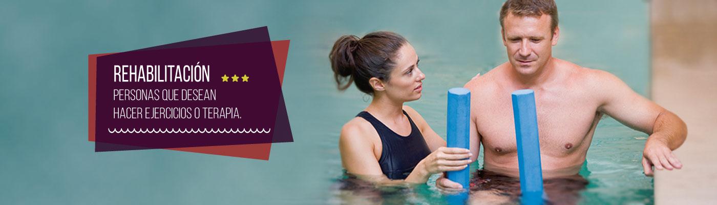 Terapia f sica rehabilitaci n en piscina y cabina for Rehabilitacion en piscina