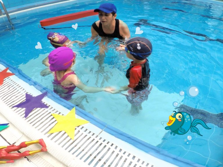 Academia de natacion angel romero